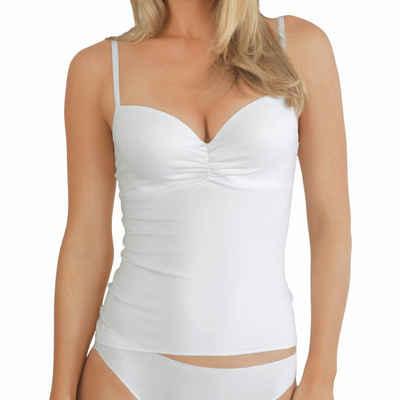 Nina Von C. Schalen-BH »Secret Top - BH-Hemd mit Schale« (1-tlg) Zaubert ein schönes Dekolleté, Angenehm auf der Haut, Mit flachen Nähten