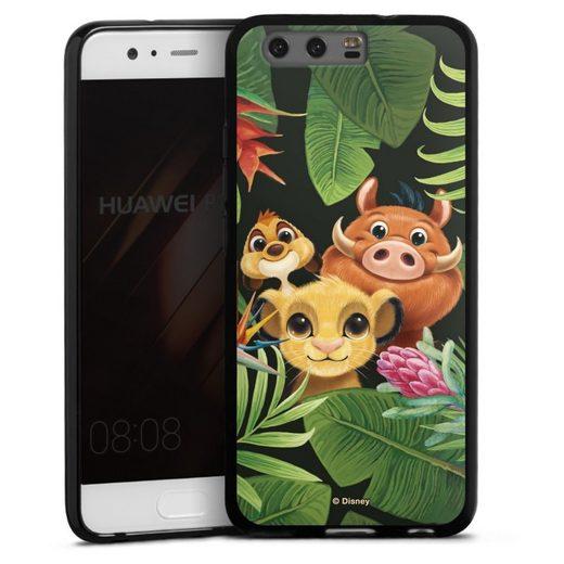 DeinDesign Handyhülle »Simbas Friends« Huawei P10, Hülle Disney Simba Timon und Pumbaa