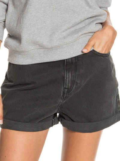 Roxy Jeansshorts »Here Its Me Black«