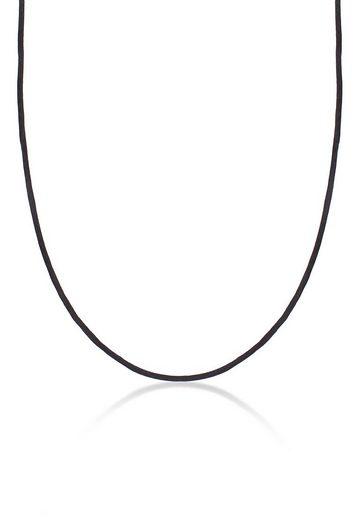 Nenalina Kette mit Anhänger »Seidenband Kette Basic Kombinierbar 925 Silber«, Basic Kette