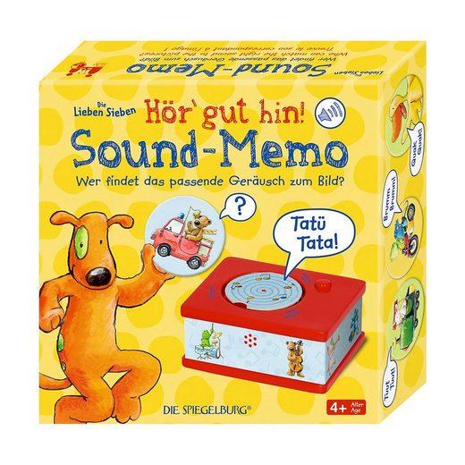 Spiegelburg Spiel, »Sound-Memo Die Lieben Sieben«