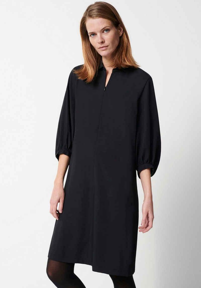 someday Blusenkleid »Qedrik« mit V-Neck mit Reißverschluss