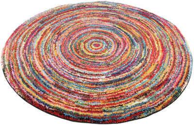 Teppich »SIXTEEN ROUND«, OCI DIE TEPPICHMARKE, rund, Höhe 25 mm, Wohnzimmer