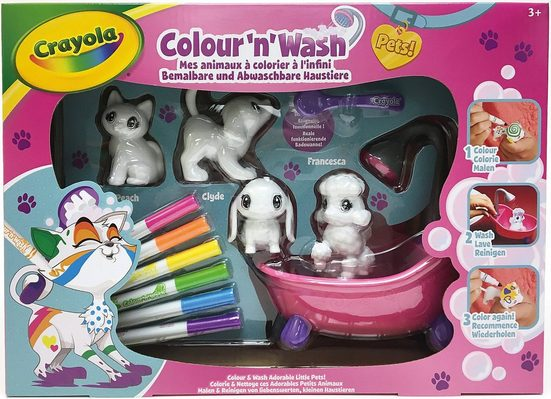 Crayola® Malvorlage »Colour ´N´ Wash - Spielset«