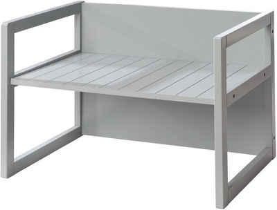 roba® Bank »Sitzbank«, für Kinder; in einen Tisch verwandelbar