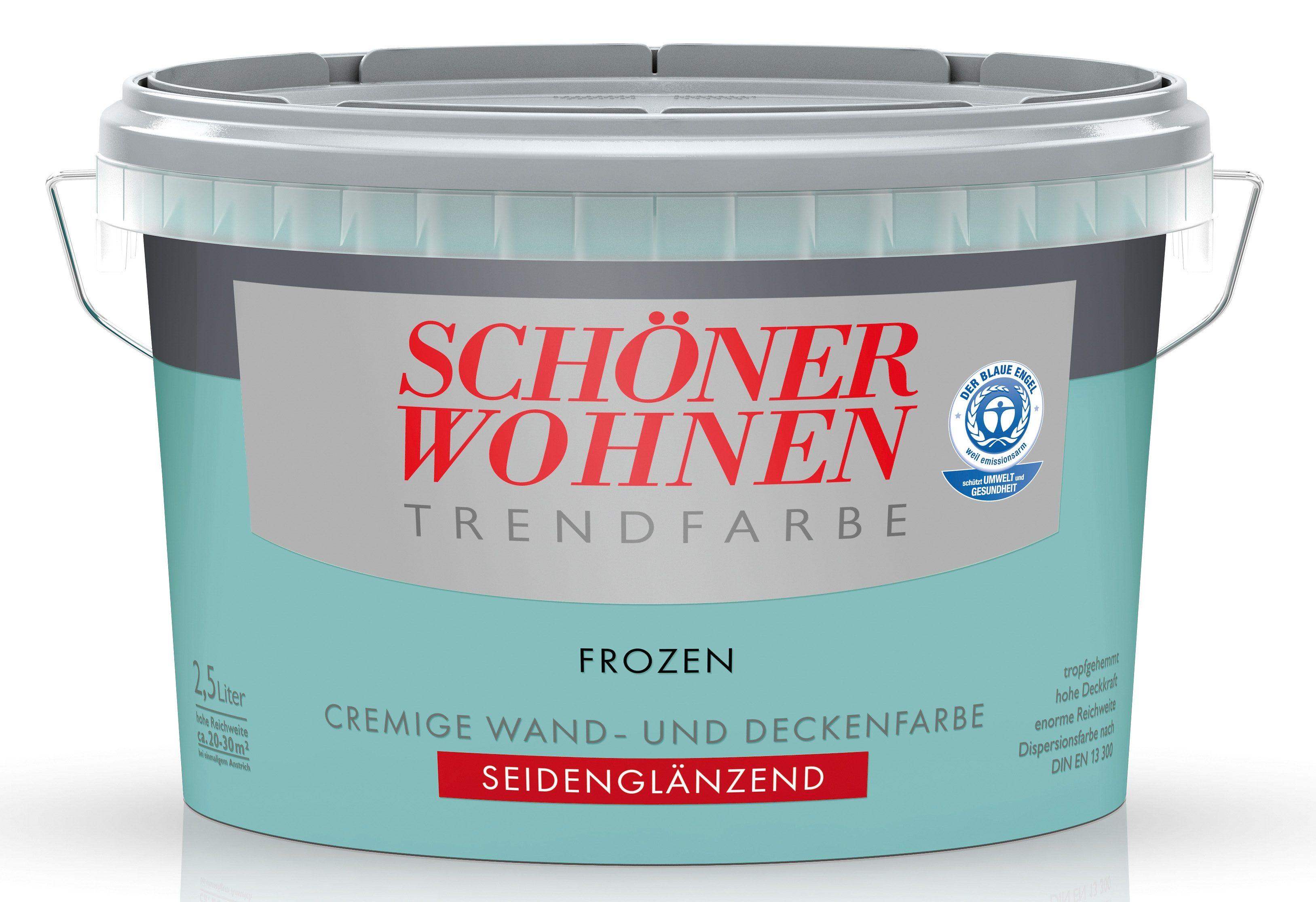 Schöner Wohnen Farbe Trendfarbe »frozen«, seidenglänzend