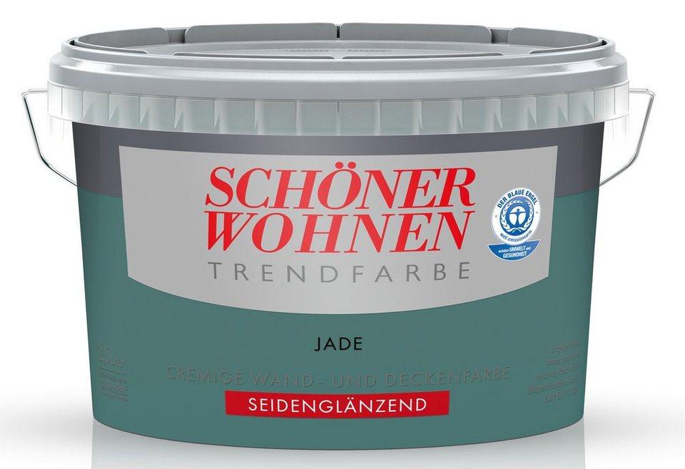 Trendfarbe »jade«, seidenglänzend in Jade