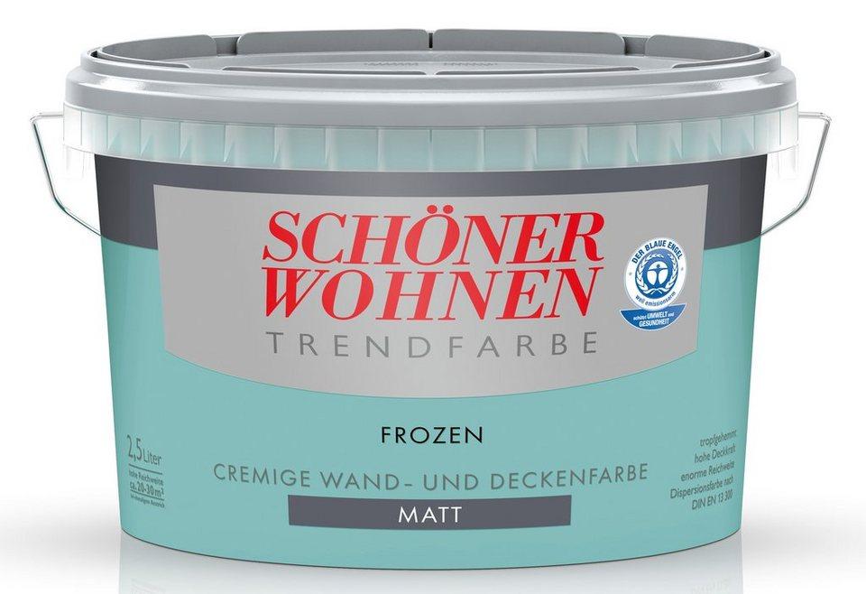 Trendfarbe »frozen«, matt in Frozen