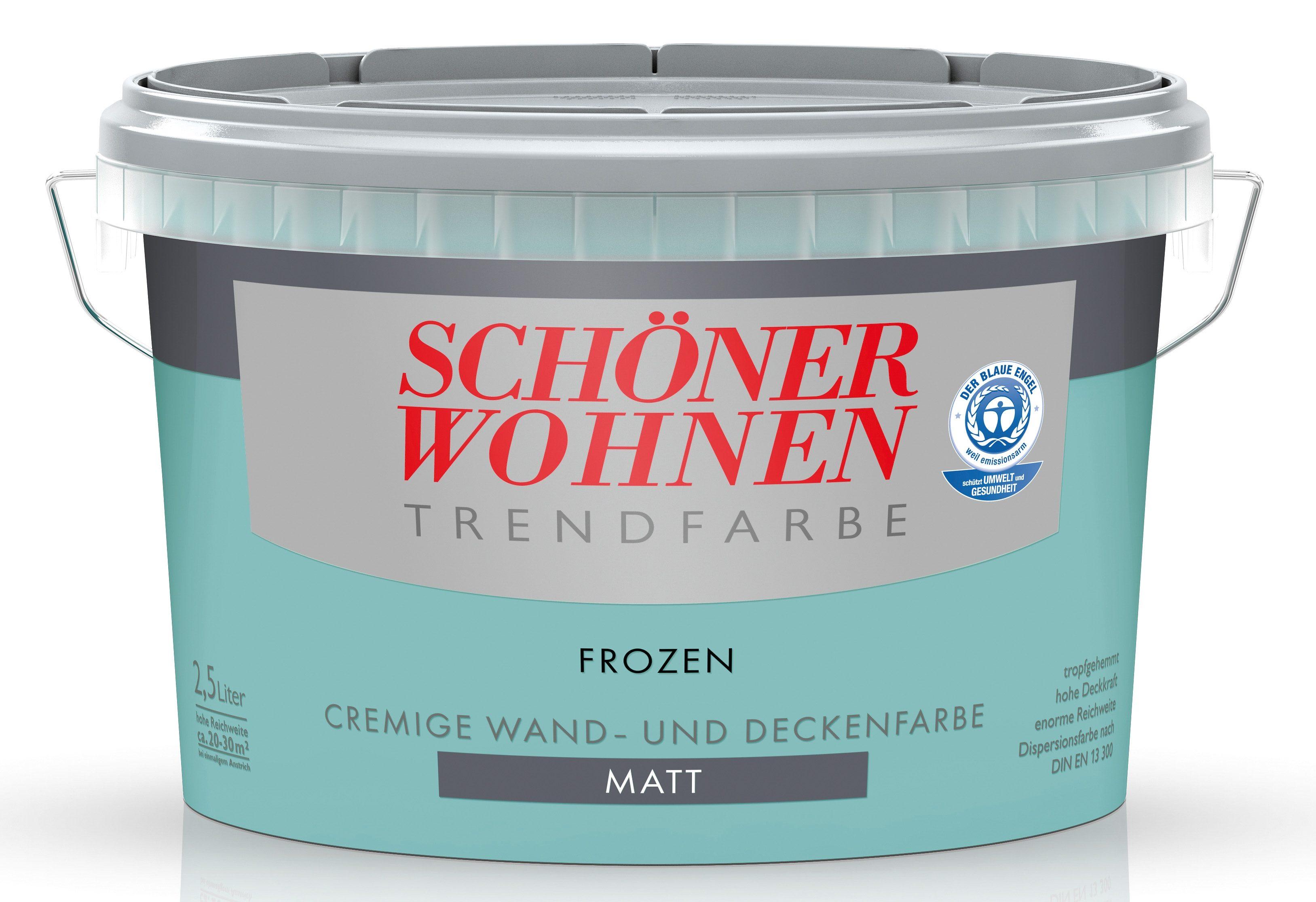Schöner Wohnen Farbe Trendfarbe »frozen«, matt