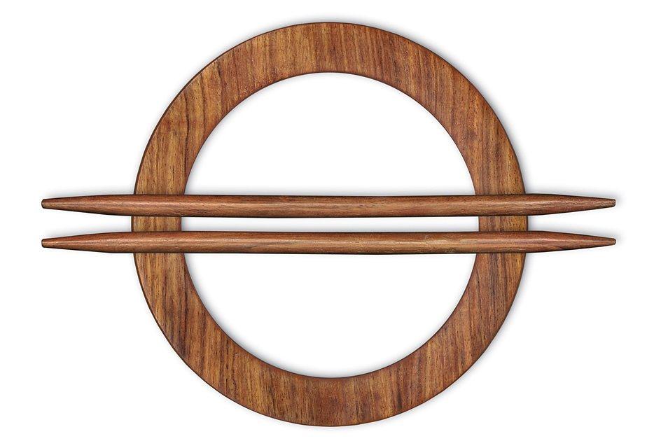 Dekoraffspange, Gerster, »Wilja« (2 Stück) in Holz