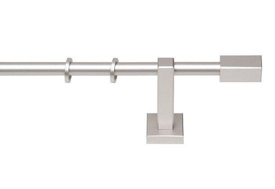Gardinenstange »Cubus Quader«, GARESA, Ø 20 mm, 1-läufig, Wunschmaßlänge