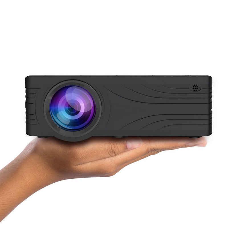 LA VAGUE »LV-HD200« LED-Beamer (2000 lm, 1000:1, 1920 x 1080 px, LV-HD200 Projektor mit LCD- und LED-Technologie für Gaming & Heimkino)