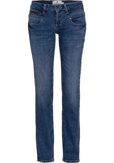 Freeman T. Porter Gerade Jeans »Alexa« mit leichter Waschung