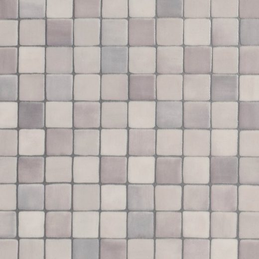 BODENMEISTER Vinylboden »Furlana«, Mosaik grau, Breite 200/300/400 cm