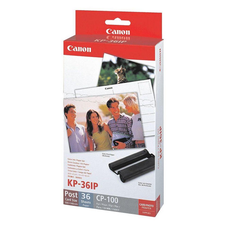 Canon Farbkartusche »KP-36 IP«, inkl. 36 Blatt Fotopapier