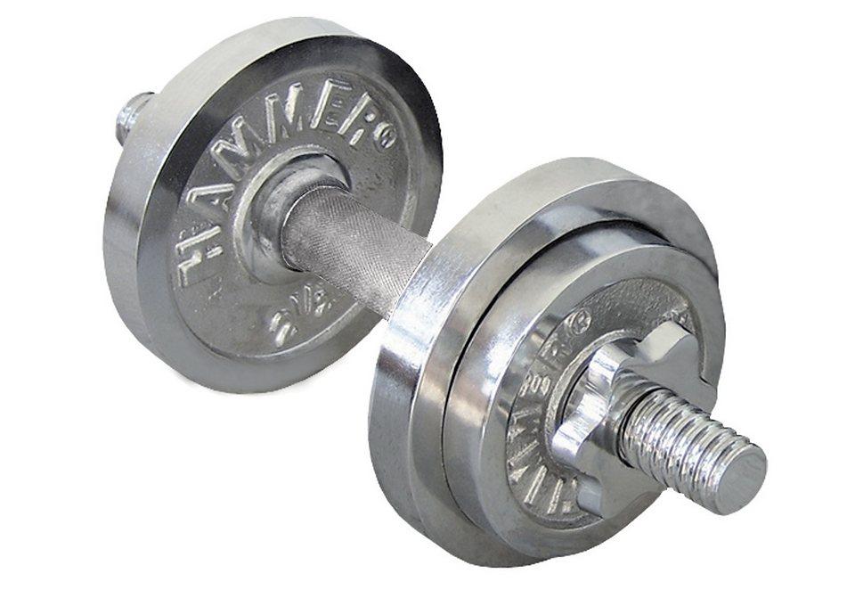 SET: Kurzhanteln, Finnlo by Hammer, »10 kg Chrom KH-Set« in chrom