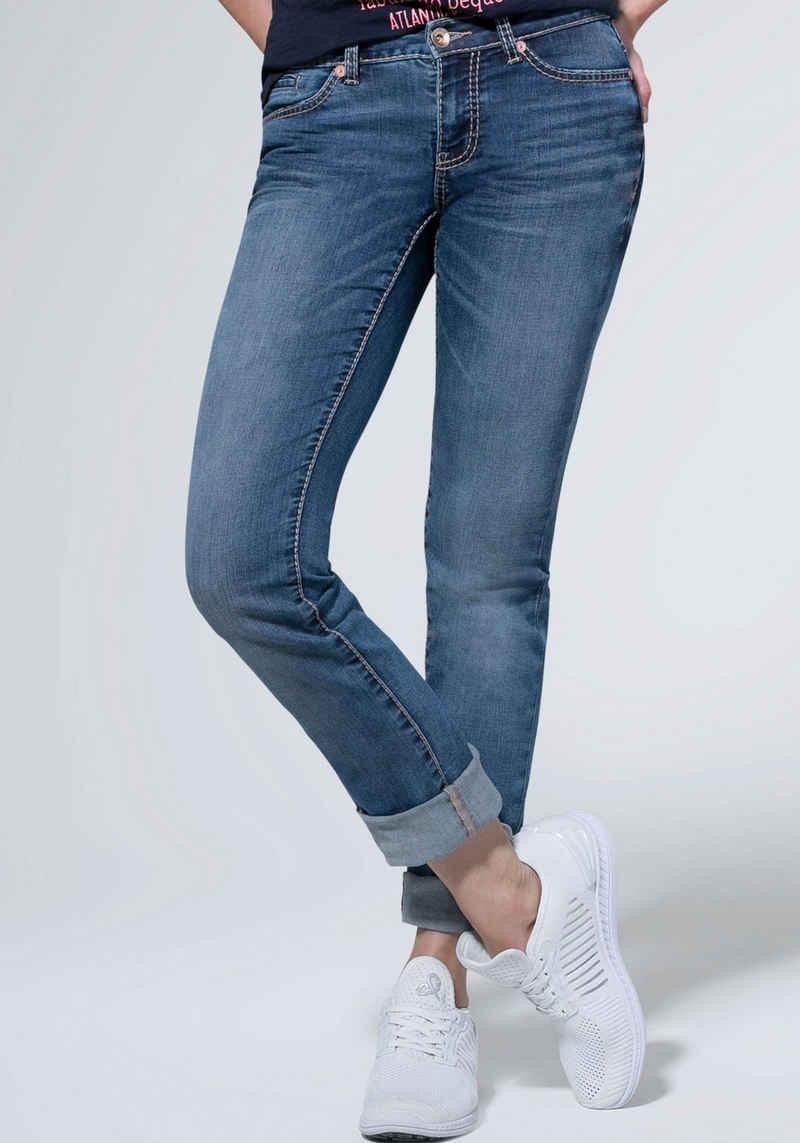 SOCCX Straight-Jeans »RO:MY«