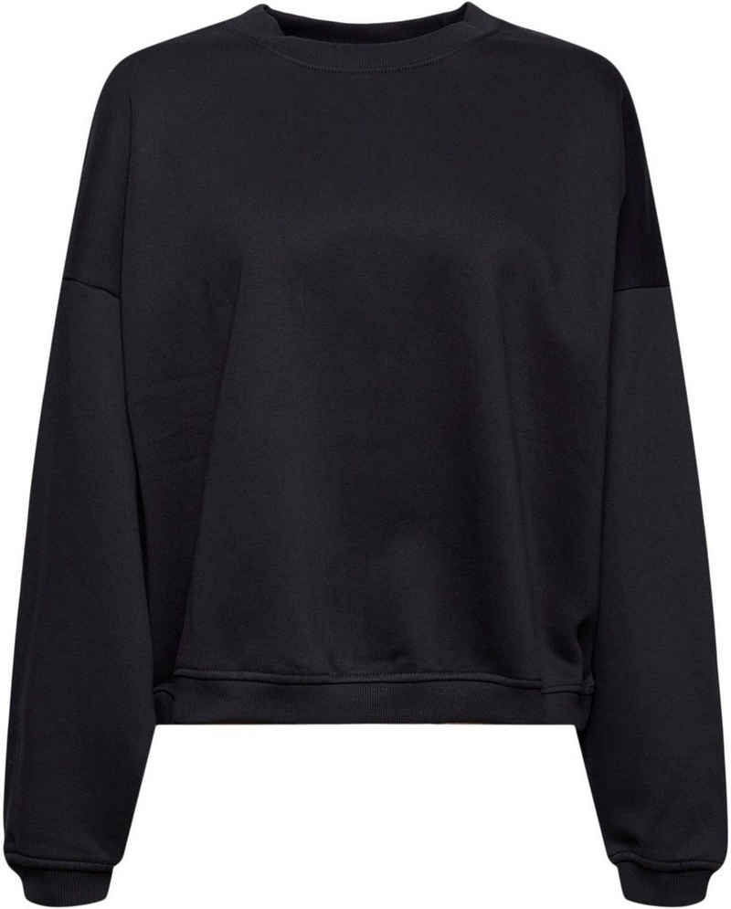 edc by Esprit Sweatshirt mit angesetzten Rippbündchen