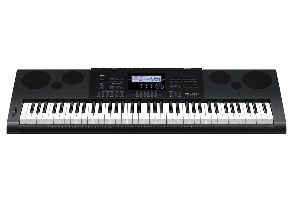 Casio® Keyboard, »WK-6600«, inkl. Netzteil in schwarz