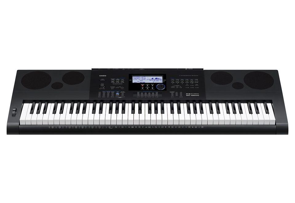 Casio® Keyboard, »WK-6600«, inkl. Netzteil