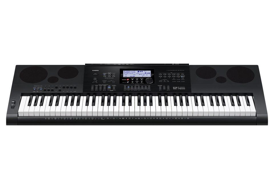 Casio® Keyboard, »WK-7600«, inkl. Netzteil