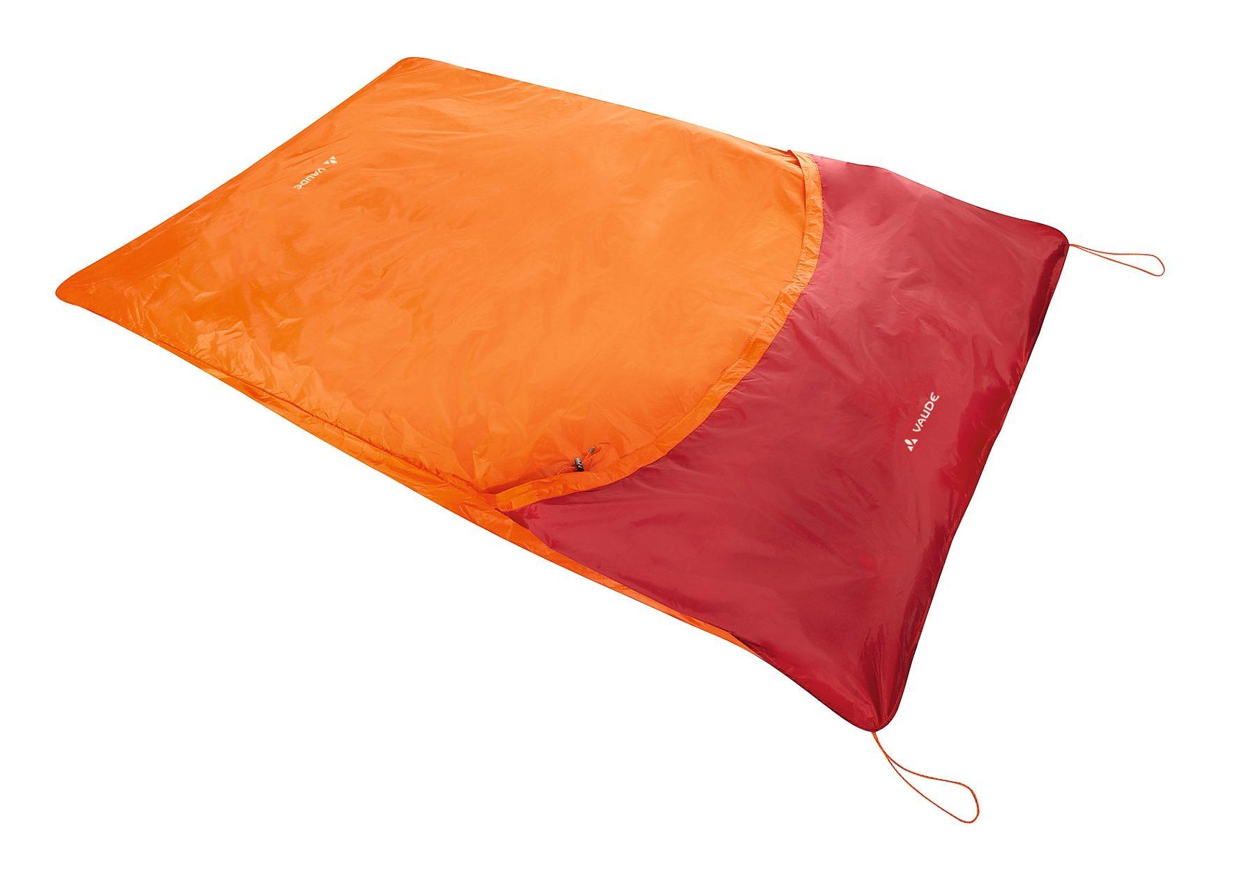 VAUDE Schlafsack »Biwak II orange«