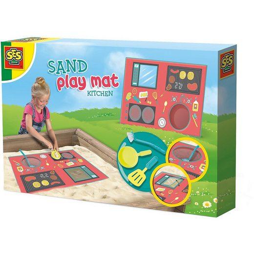 SES Creative Sandkasten »Sandspielmatte - Küche«