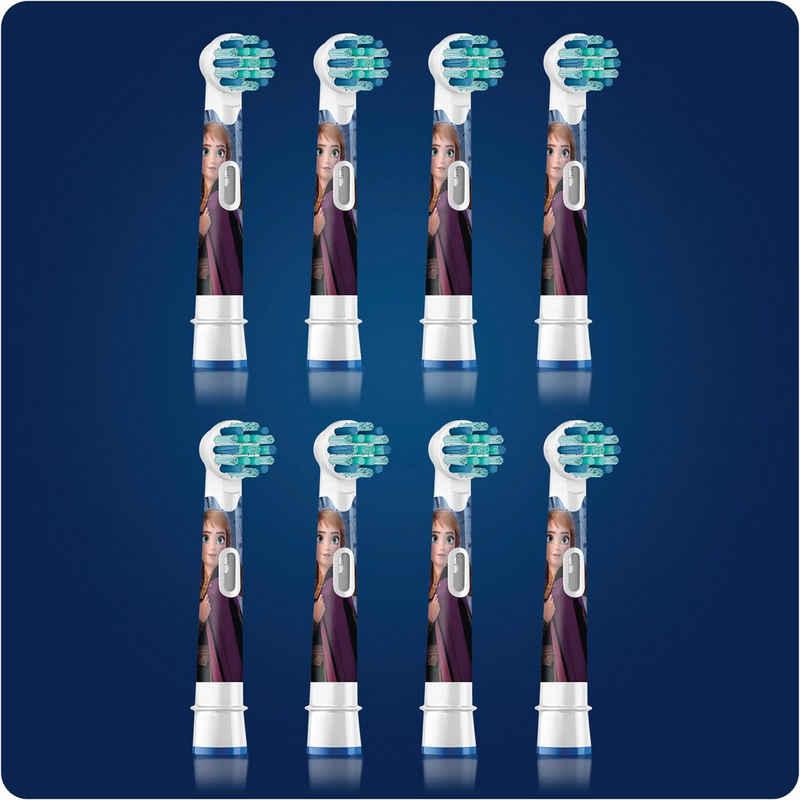 Oral B Aufsteckbürsten »Kids Frozen«, für Kinder ab 3 Jahren, du erhältst einen Mix aus verschiedenen Frozen Motiven