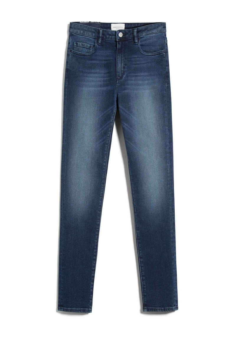 Armedangels Slim-fit-Jeans »TILLAA CIRCULAR Damen Skinny Fit Mid Waist« (1-tlg)