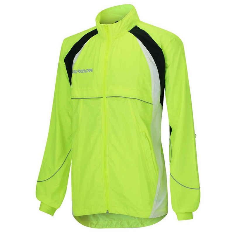 Airtracks Laufjacke »Herren Fahrradjacke / Laufjacke« Funktionsjacke Ideal für Radfahren Laufen Training, » S M L XL XXL XXXL «