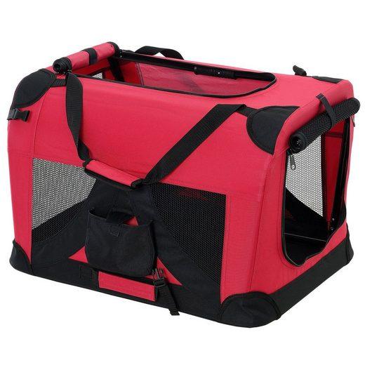 Pro-tec Tiertransporttasche, Hundetransportbox Faltbar von S bis XXXXL Transportbox 4 verschiedene Farben