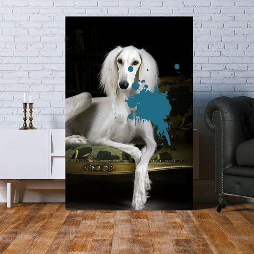 queence Acrylglasbild »Hund«