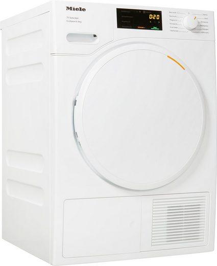 Miele Wärmepumpentrockner T1 White Edition TSD443 WP EcoSpeed&8kg, 8 kg