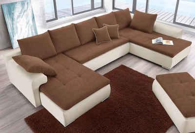 couch u form schlaffunktion. Black Bedroom Furniture Sets. Home Design Ideas