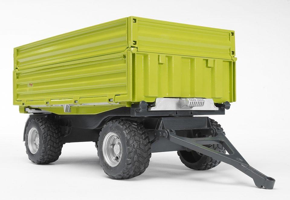 bruder® Anhänger 02203, »Fliegl 3-Seitenkipper mit Aufsteckbordwand«
