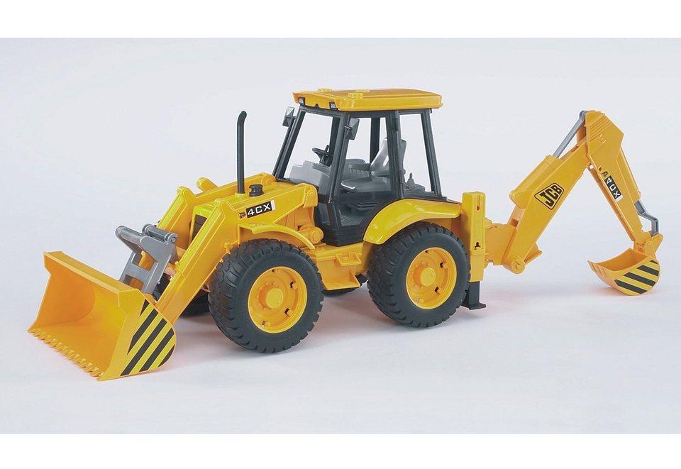bruder®, Baggerlader, »JCB 4CX Baggerlader« in gelb
