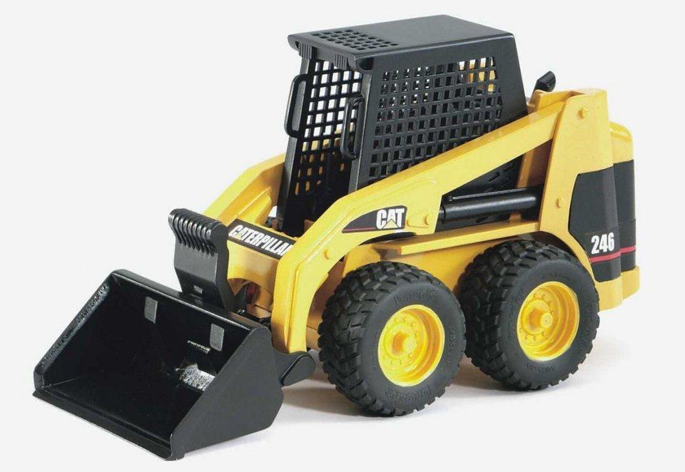 bruder® Radlader, »CAT Kompaktlader« in gelb