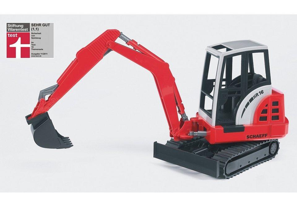 bruder® Bagger, »Schaeff HR16 Minibagger« in rot