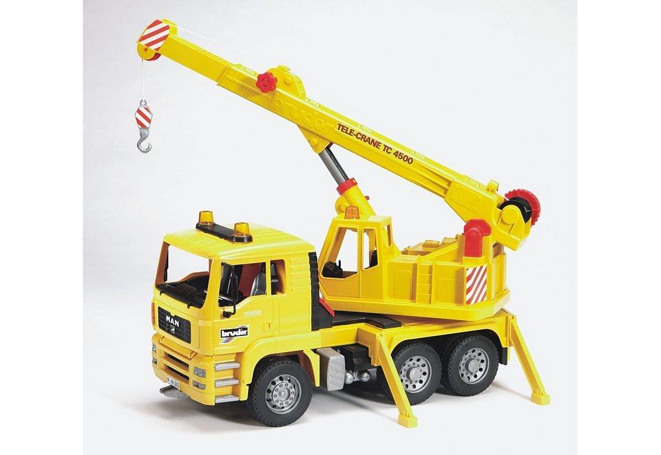 bruder® Kran-LKW, »MAN TGA« in gelb