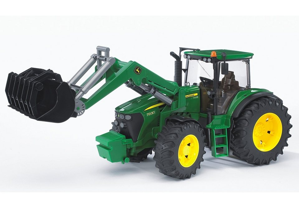 bruder traktor john deere 7930 mit frontlader otto. Black Bedroom Furniture Sets. Home Design Ideas