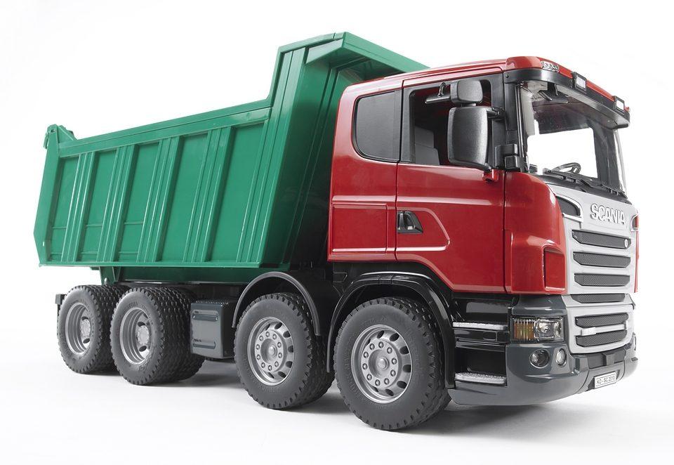 bruder® LKW, »SCANIA R-Serie Kipp-LKW«