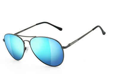 KingKerosin Sonnenbrille »KK240g« Bügel mit Flex-Scharnieren, Steinschlagbeständig