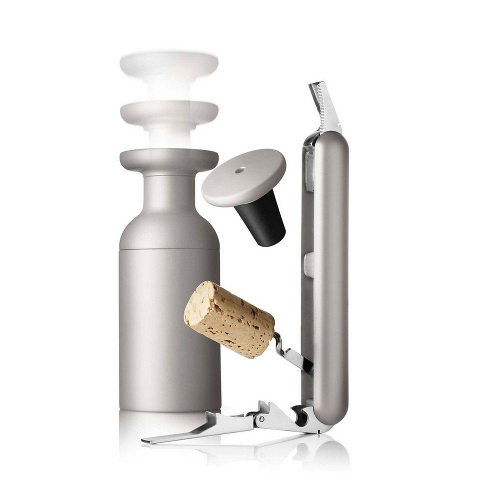 MENU Menu SET Kellnermesser und Vakuumverschluss ash in ash