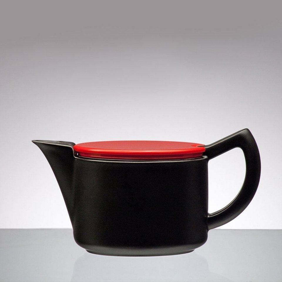 Sowden Sowden SoftBrew Kaffeekanne JAMES 0.4L schwarz-rot in schwarz, rot