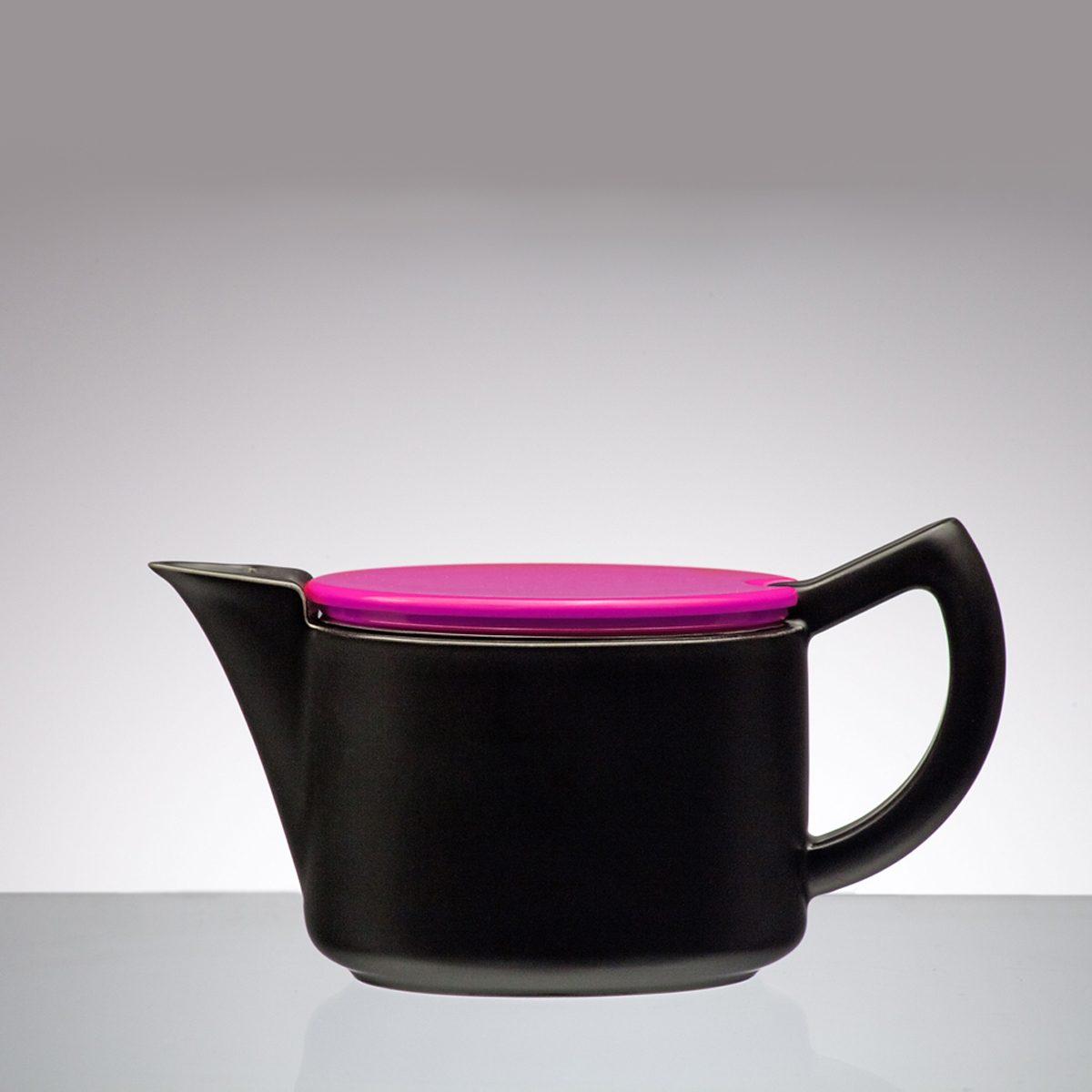 Sowden Sowden SoftBrew Kaffeekanne JAMES 0.4L schwarz-weinrot