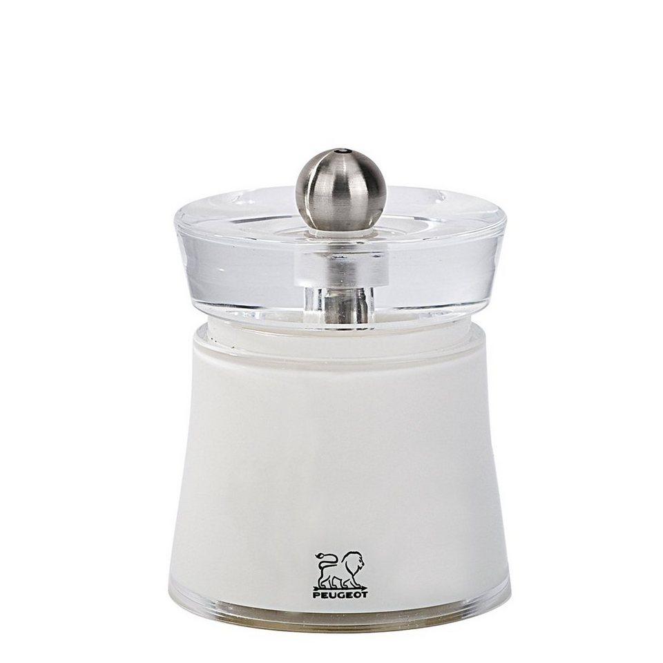 PEUGEOT Peugeot Salzmühle BALI 8cm weiß in weiß