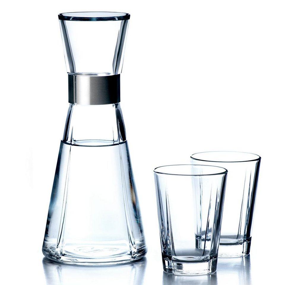 ROSENDAHL Rosendahl SET Wasserkaraffe GRAND CRU und 2 Wassergläser in 900 ml, 250 ml