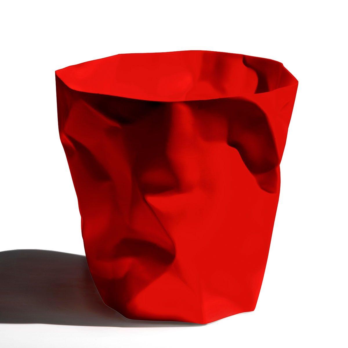 KLEIN UND MORE Klein und More Papierkorb BIN BIN rot