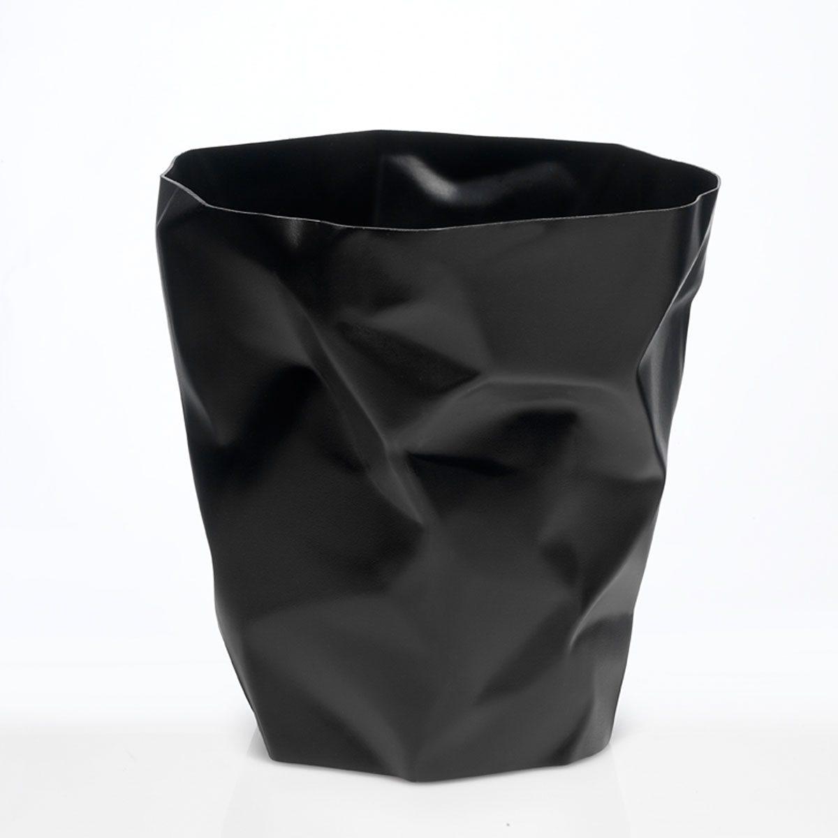 KLEIN UND MORE Klein und More Papierkorb BIN BIN schwarz