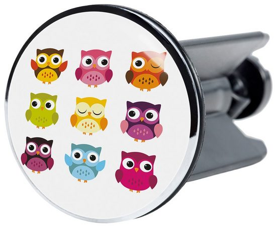 SANILO Stöpsel »Owl«, für Waschbecken, Ø 4 cm